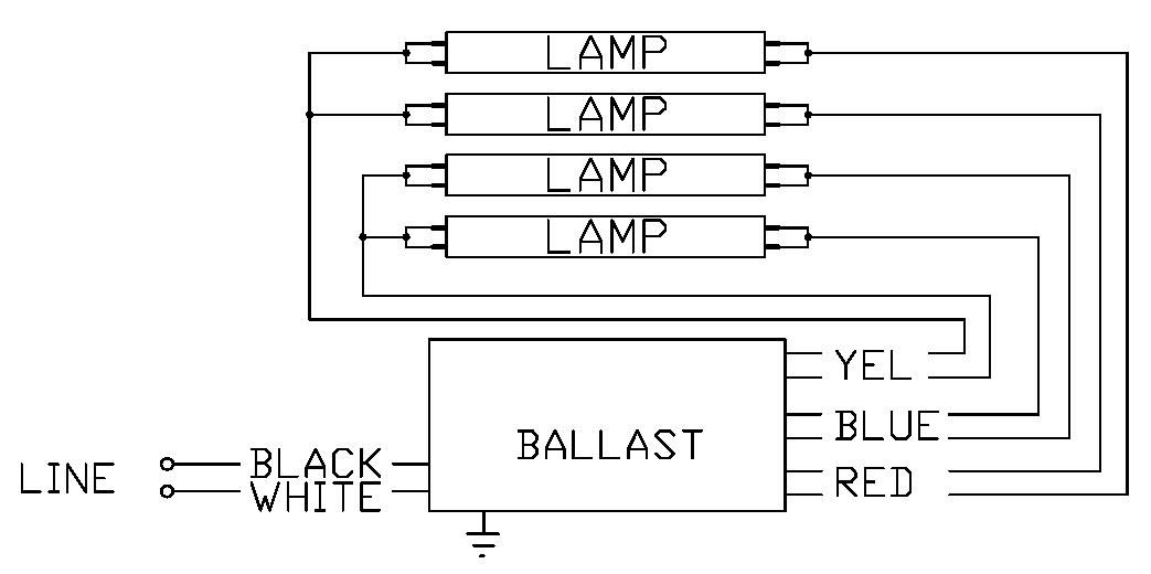 wiring 4 espen technology inc 4 lamp t8 ballast wiring diagram at gsmportal.co